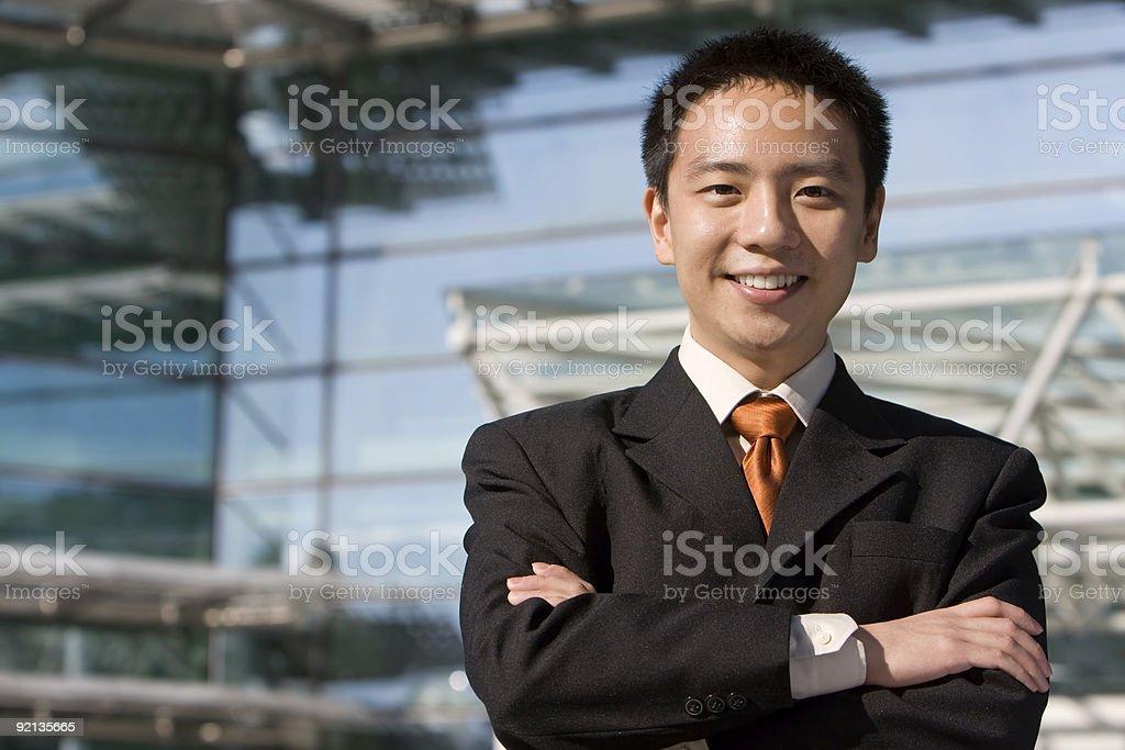 Asian chinese business man stock photo