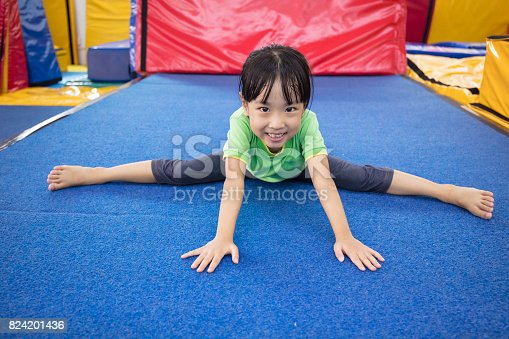 istock Asian Chinese little girl playing indoor 824201436