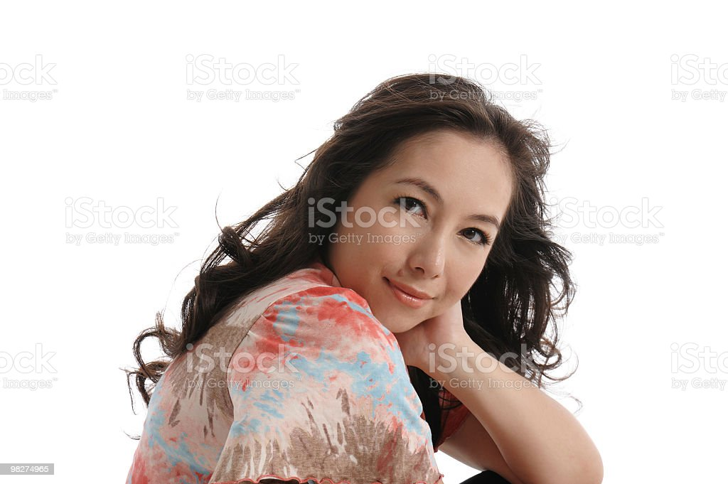 Asian Chinese woman royalty-free stock photo