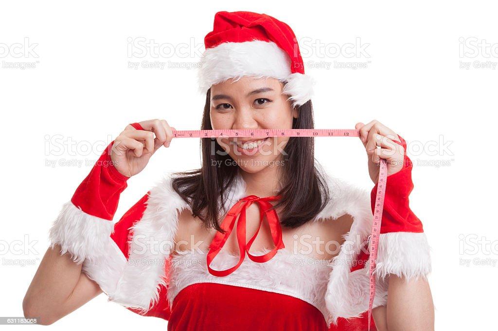 Con Natale Da Ragazza A Babbo Asiatico Metro Dieta Vestita 7wPqF7