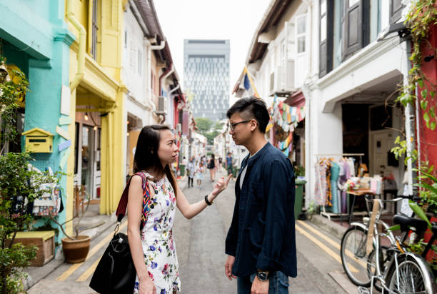 Asian couple dating Asian couple dating asian couple arguing stock pictures, royalty-free photos & images