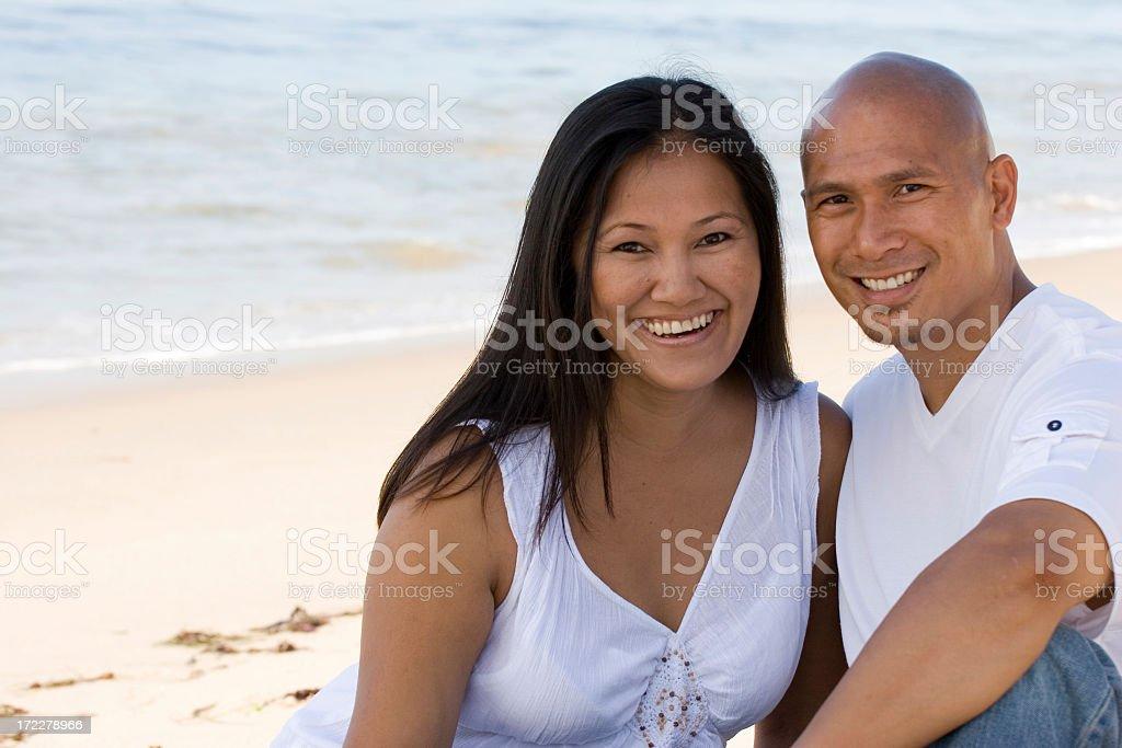 Asian Couple royalty-free stock photo