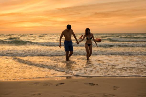 Making love beach