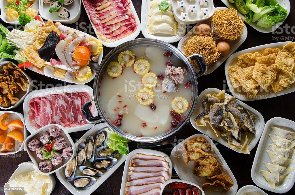 Asian cuisine stock photo