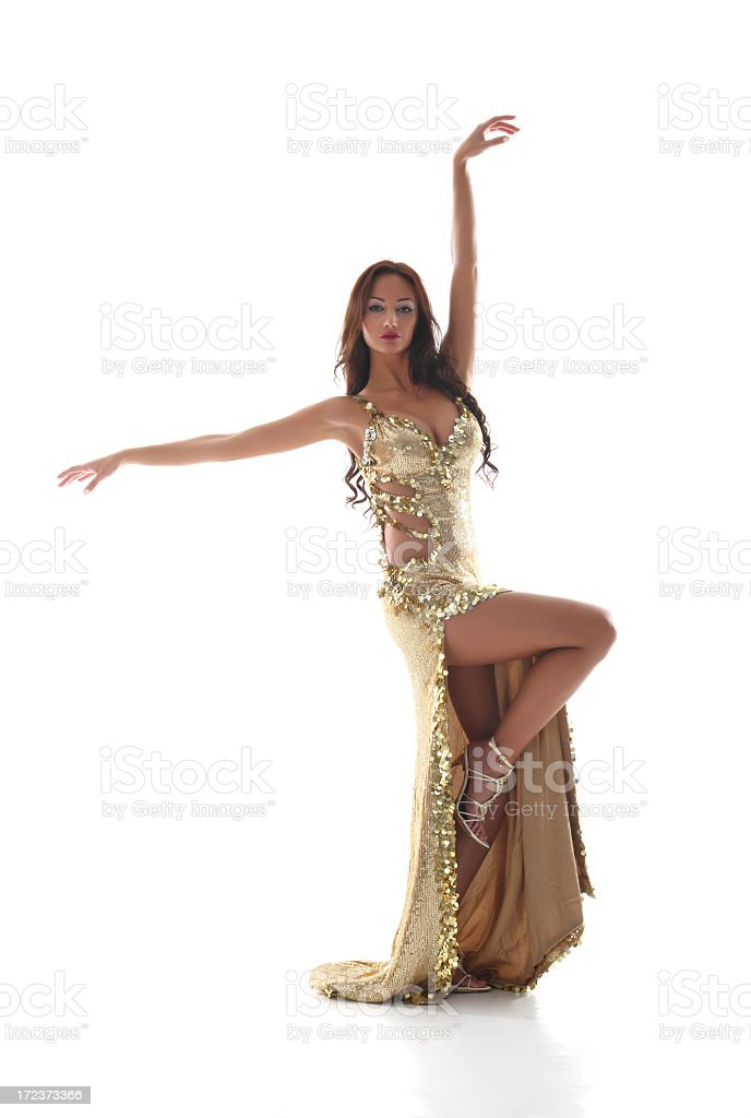 Oriental Dancer royalty-free stock photo