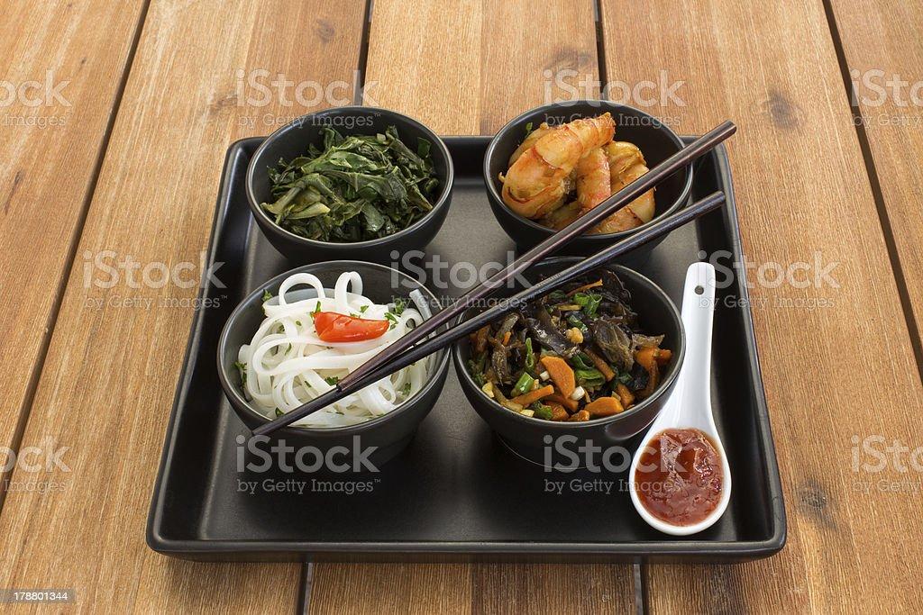 Asian dish royalty-free stock photo