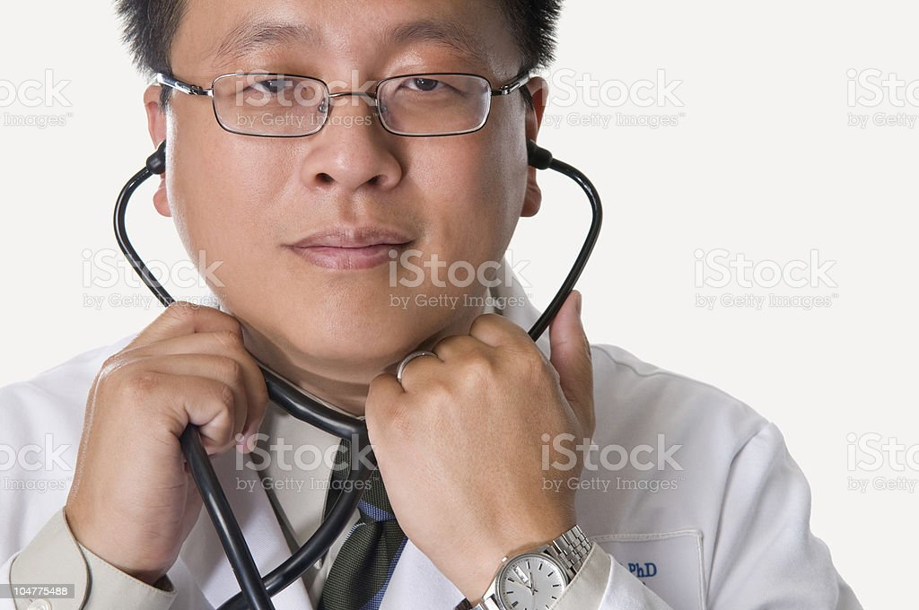 Asian Doctor royalty-free stock photo