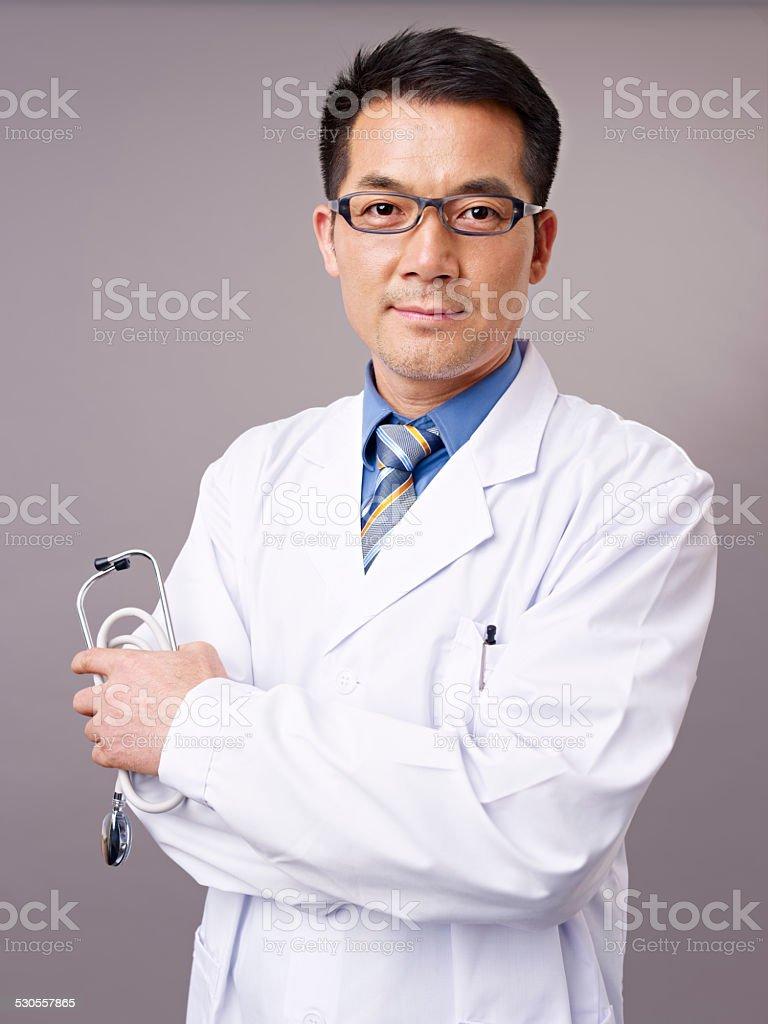アジアの医師 ストックフォト