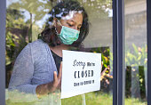 istock Asian entrepreneur closing business due to Covid 19 outbreak 1220064309