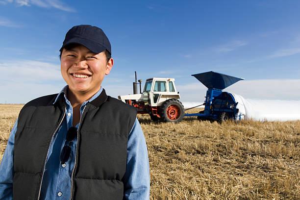 Asiatische Farmer – Foto