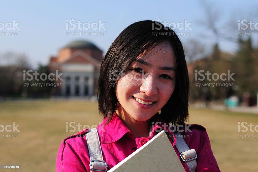 Asian feminino ESTUDANTE UNIVERSITÁRIO-XG - foto de acervo