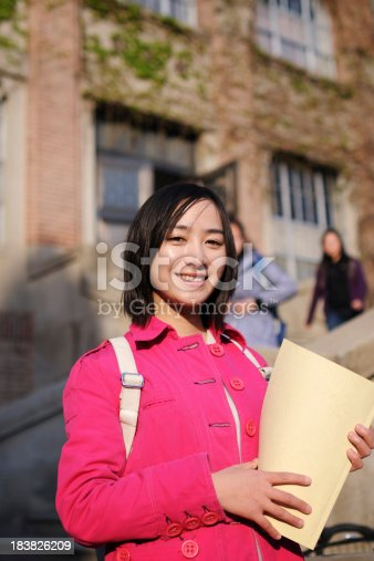 1009493672istockphoto Asian Female College Student - XLarge 183826209