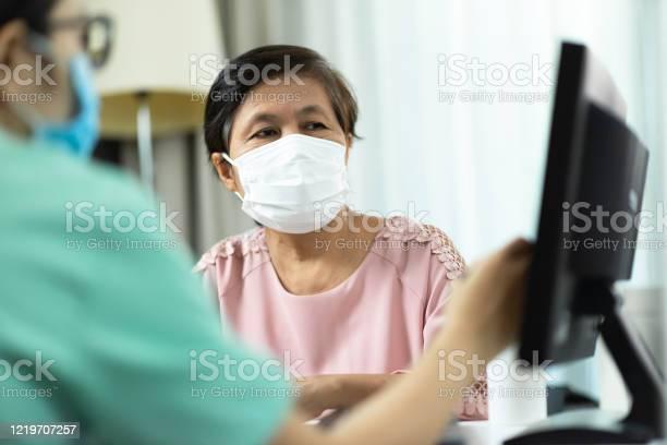 Asian female doctor or nurse in green uniform talking giving advice picture id1219707257?b=1&k=6&m=1219707257&s=612x612&h=7d3iwmtb4kqycem oylttmdovgsmvfefknvkvdq5enw=