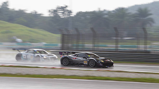 Asian Festival of Speed, GT Asia main race, Sepang Malaysia stock photo
