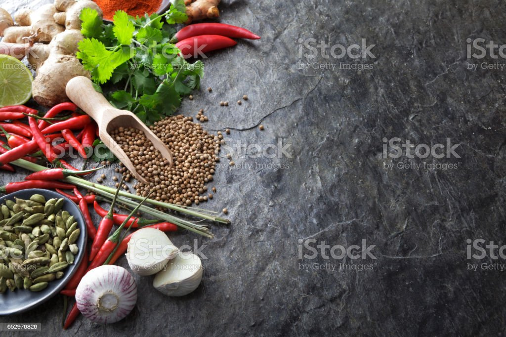 Asian Food: Asian Ingredients Still Life stock photo
