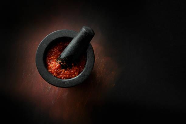 Asian Food: Chili Sauce Still Life stock photo