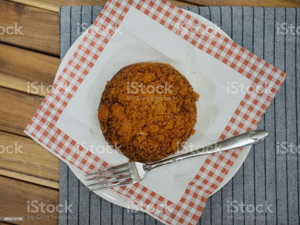 Asian Food Fried Sovoro Bread Stock Photo - Download Image