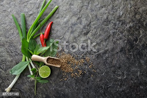Asian Food: Ingredients for Asian Cooking Still LIfe