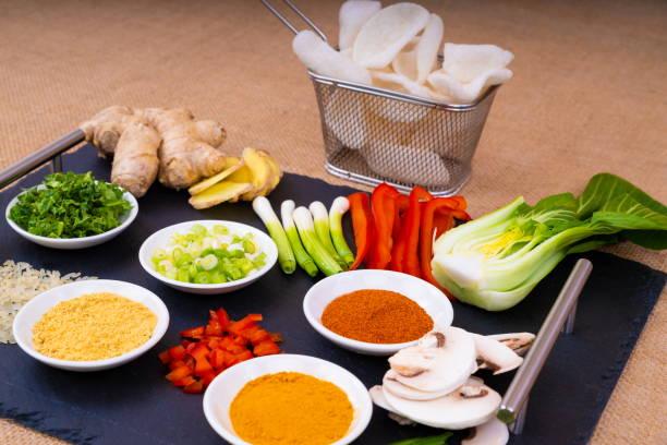 Asian Food Ingredients. stock photo