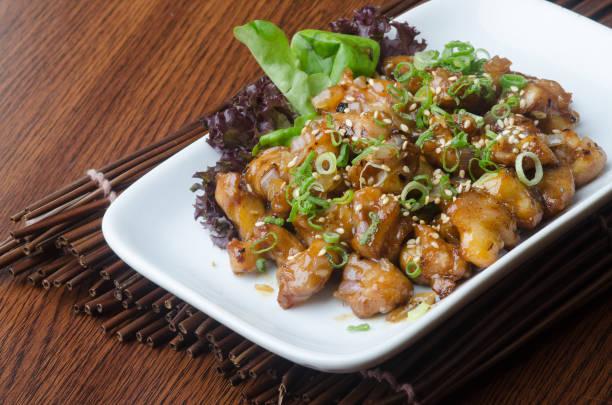 아시아 음식이 나 일본 요리 스톡 사진