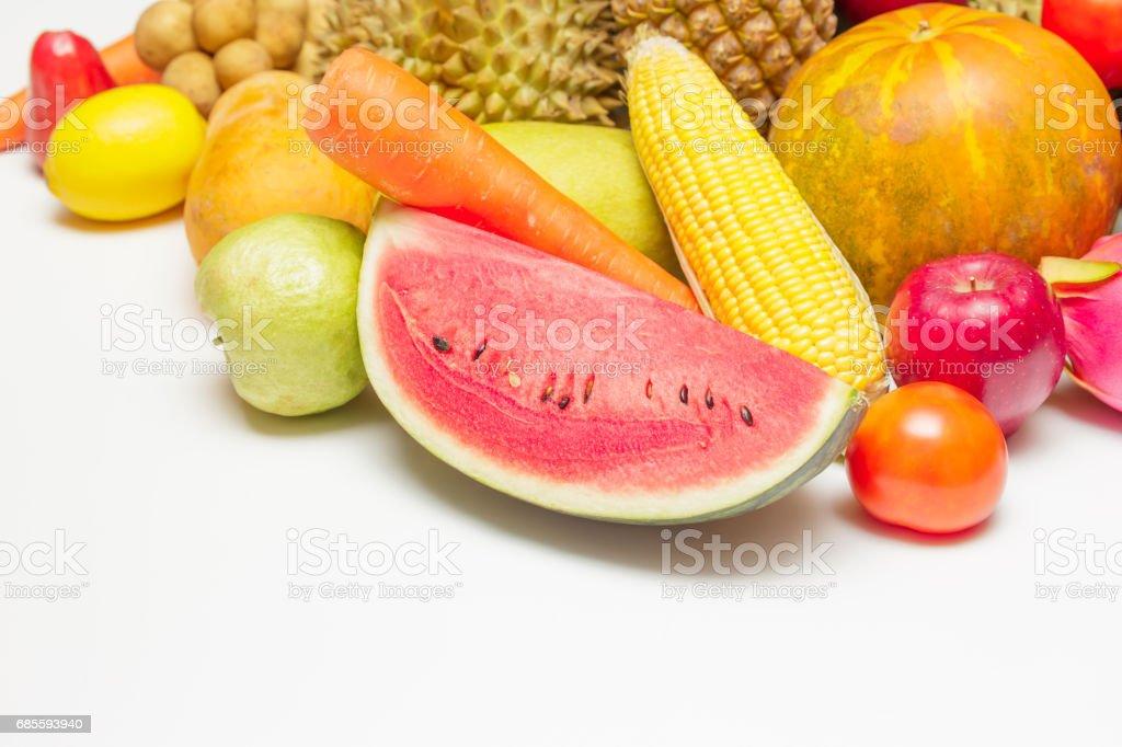 Asian fruits. 免版稅 stock photo
