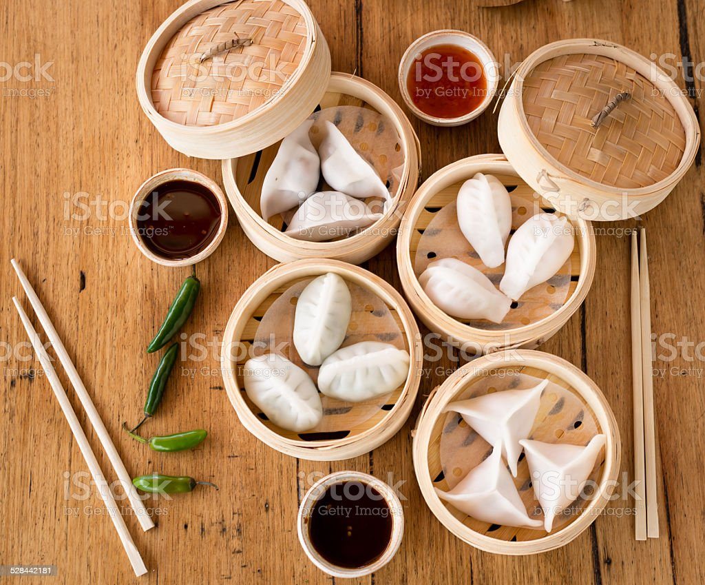 Asian fusion stock photo