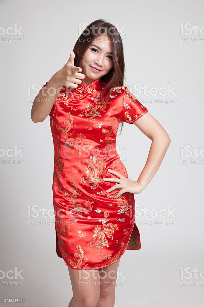 f44d056ea Asian Girl In Chinese Cheongsam Dress Stock Photo & More Pictures of ...
