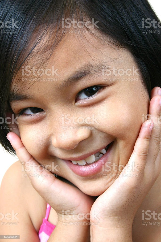 Asian girl (series) royalty-free stock photo