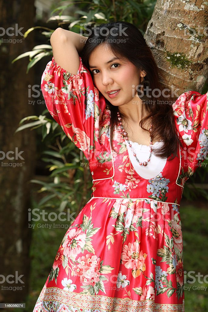 Asian Girl royalty-free stock photo