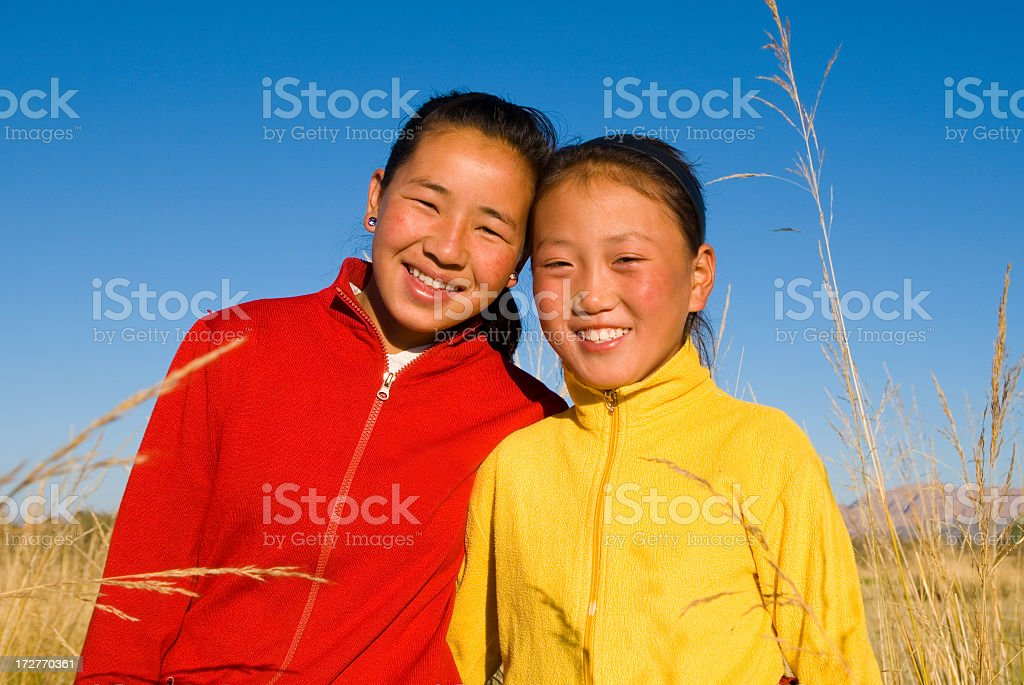 Asian Girls royalty-free stock photo