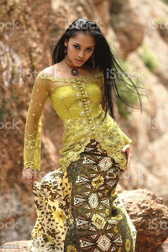 Азиатские Glamour Стоковые фото Стоковая фотография