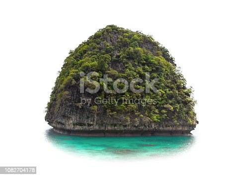 istock Asian island on isolated background 1082704178