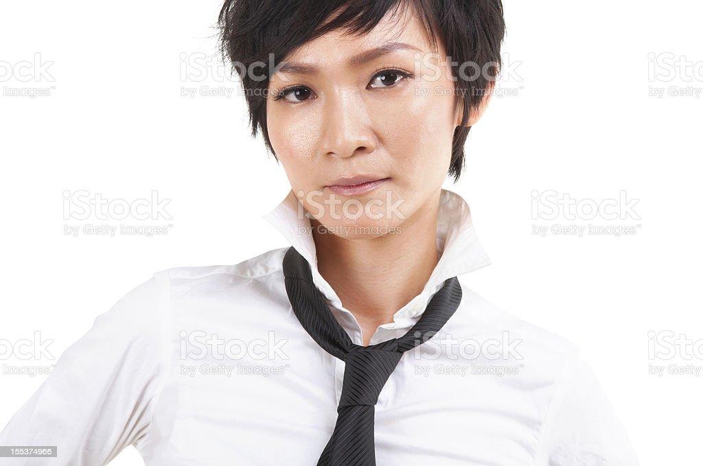 Asian Japanese Rock Girl royalty-free stock photo