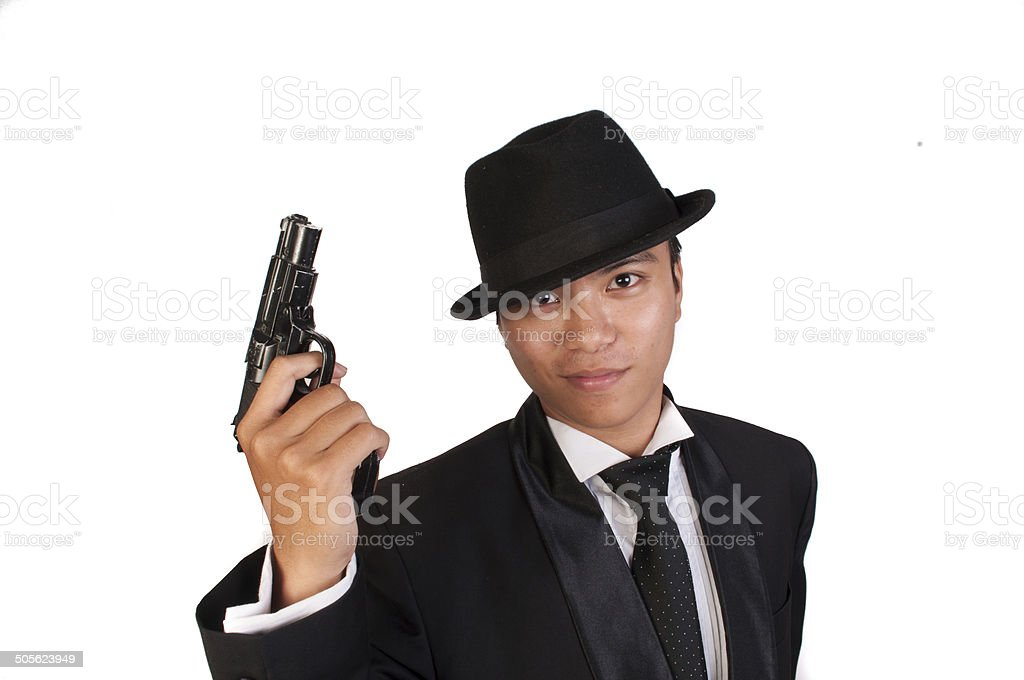 Asian Mafia stock photo