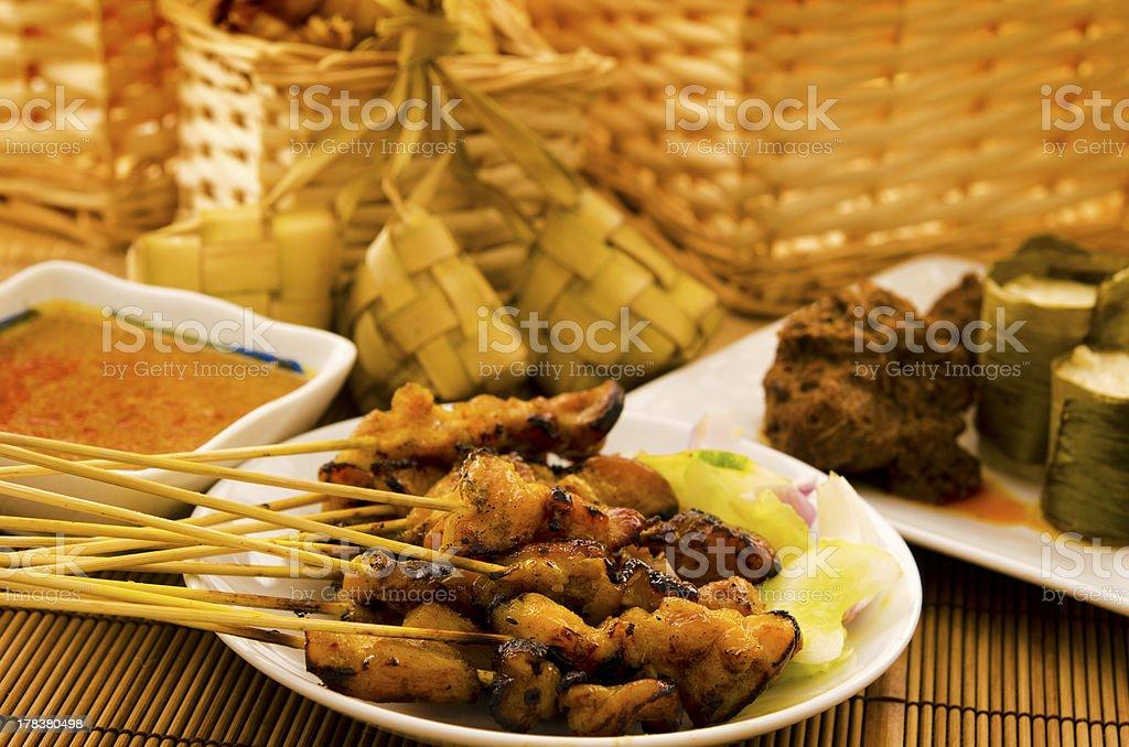 Asian malay Ramadhan foods royalty-free stock photo