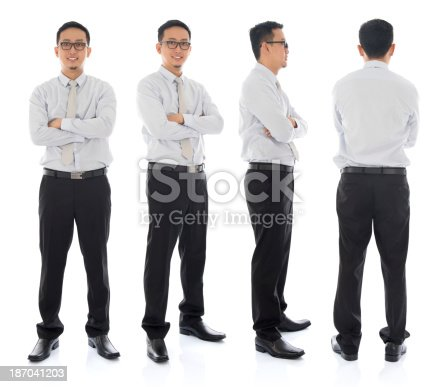 istock Asian male in different angle 187041203