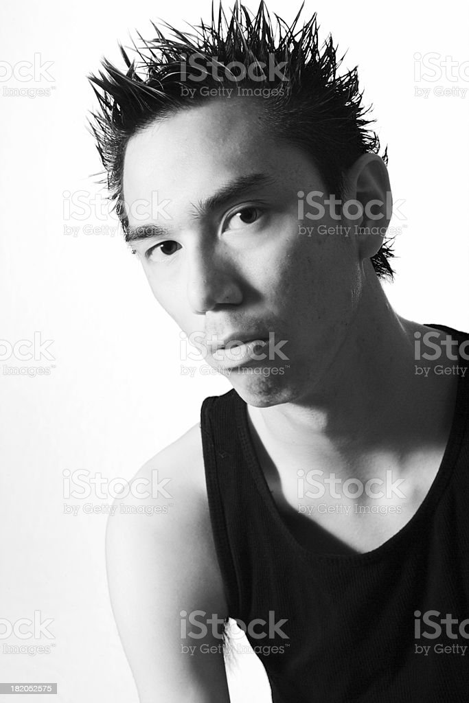 Asian Male royalty-free stock photo