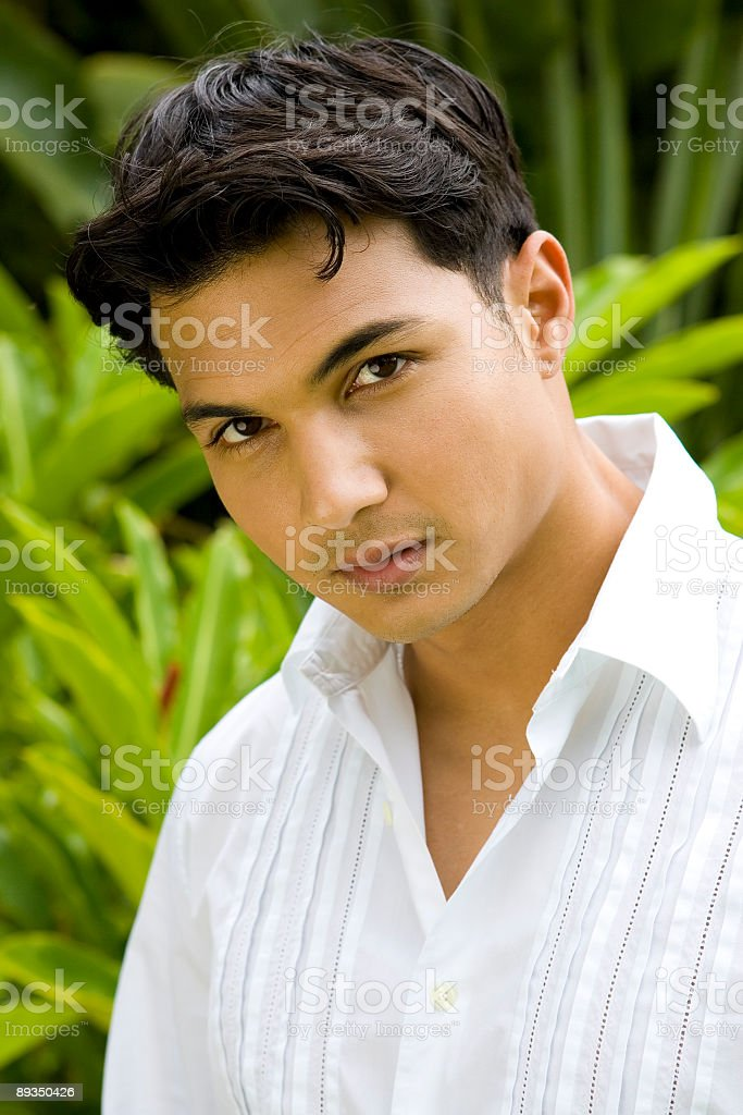 Asian Male Portrait stock photo