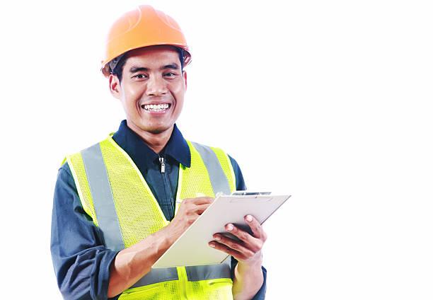 Asiatischen Mann-Ingenieur – Foto