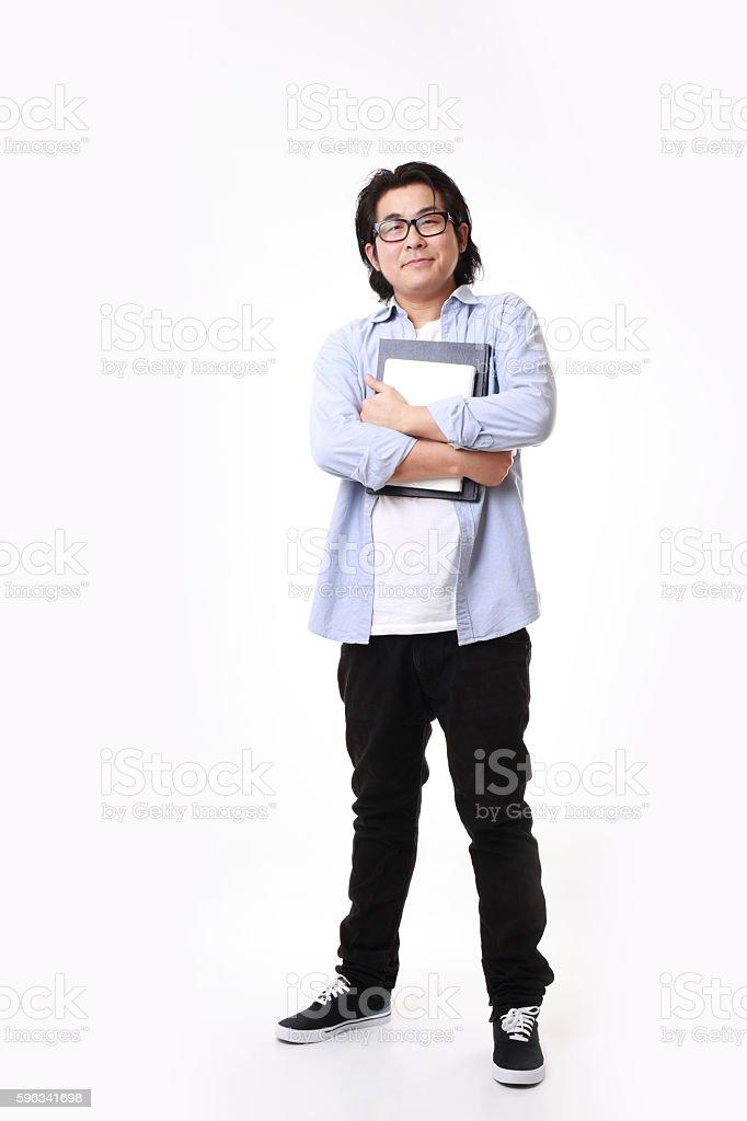 Asiatischen Mann Lizenzfreies stock-foto