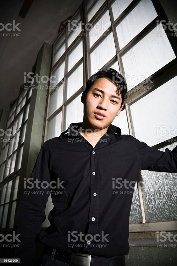 asian man portrait royalty-free stock photo