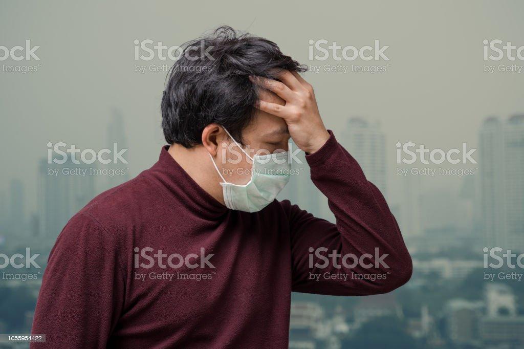 Dolor de cabeza por smog