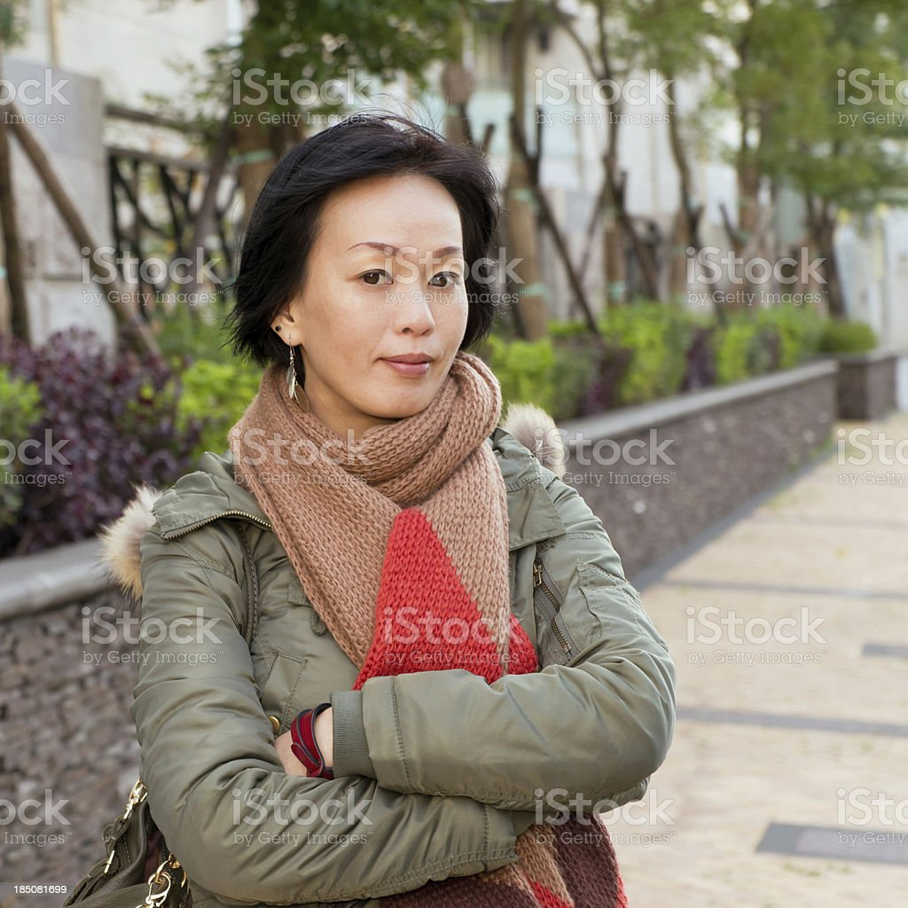 asian mature attractive woman stock photo & more pictures of 30-39