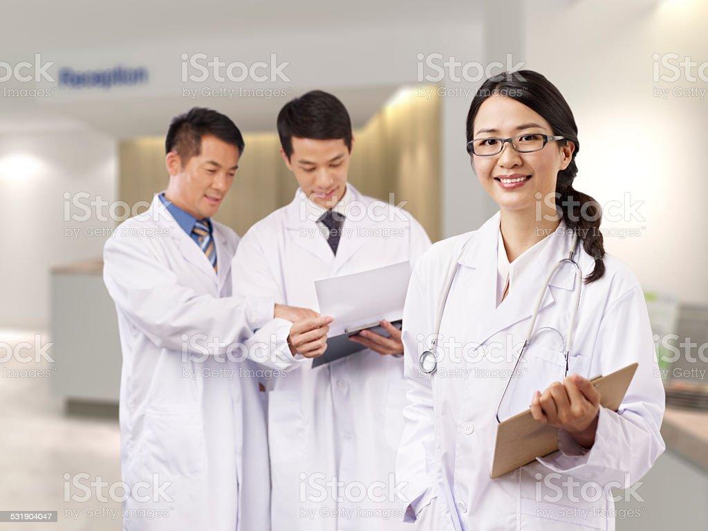 asian medical professionals圖像檔