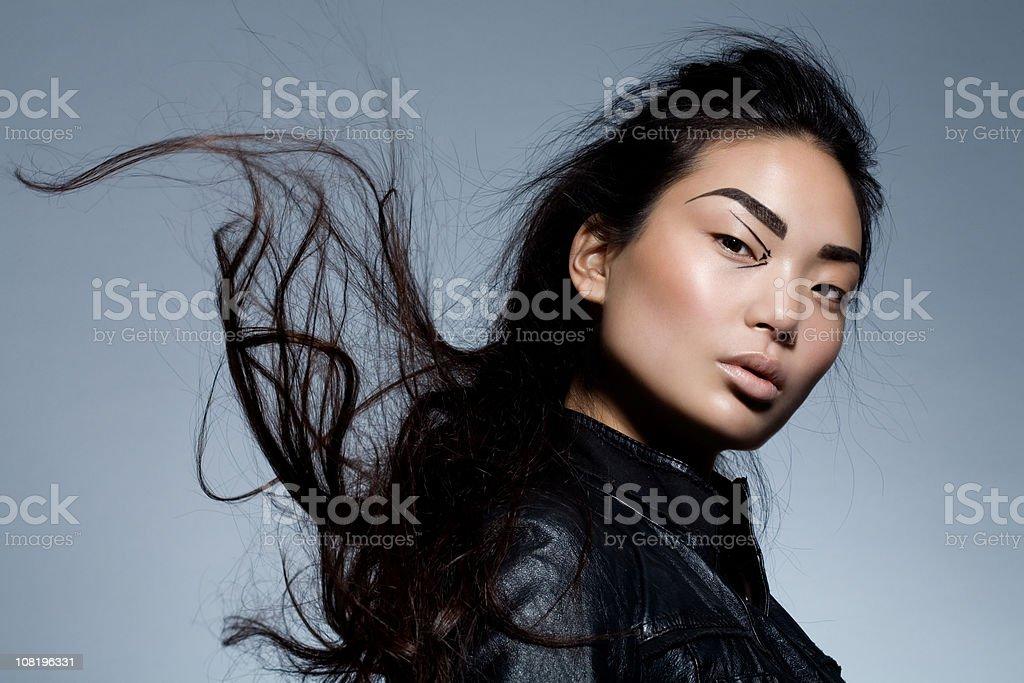 Asian Model Fashion Portrait stock photo