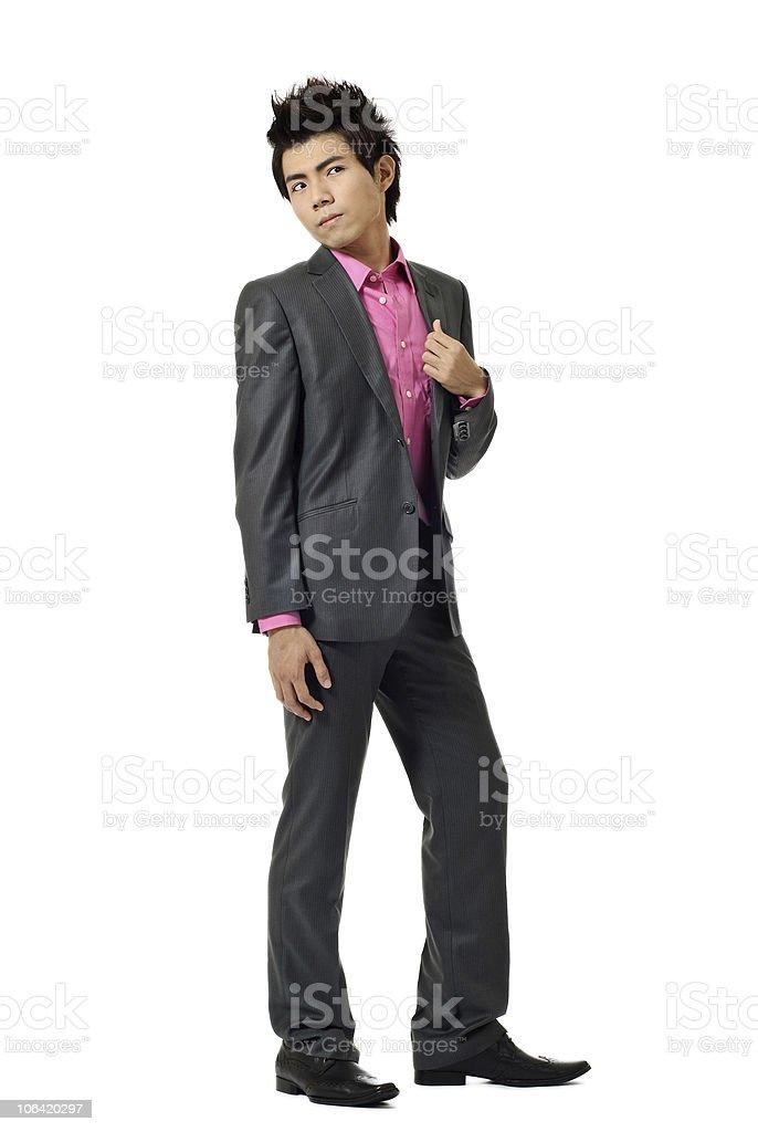Asian modern business man royalty-free stock photo