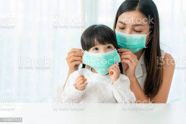 Asian mother wearing wearing to her daughter healthy face mask in picture id1213477112?b=1&k=6&m=1213477112&s=612x612&h=dylvodfotntouruhvx47xpjezp c58juvrgjbwigtim=