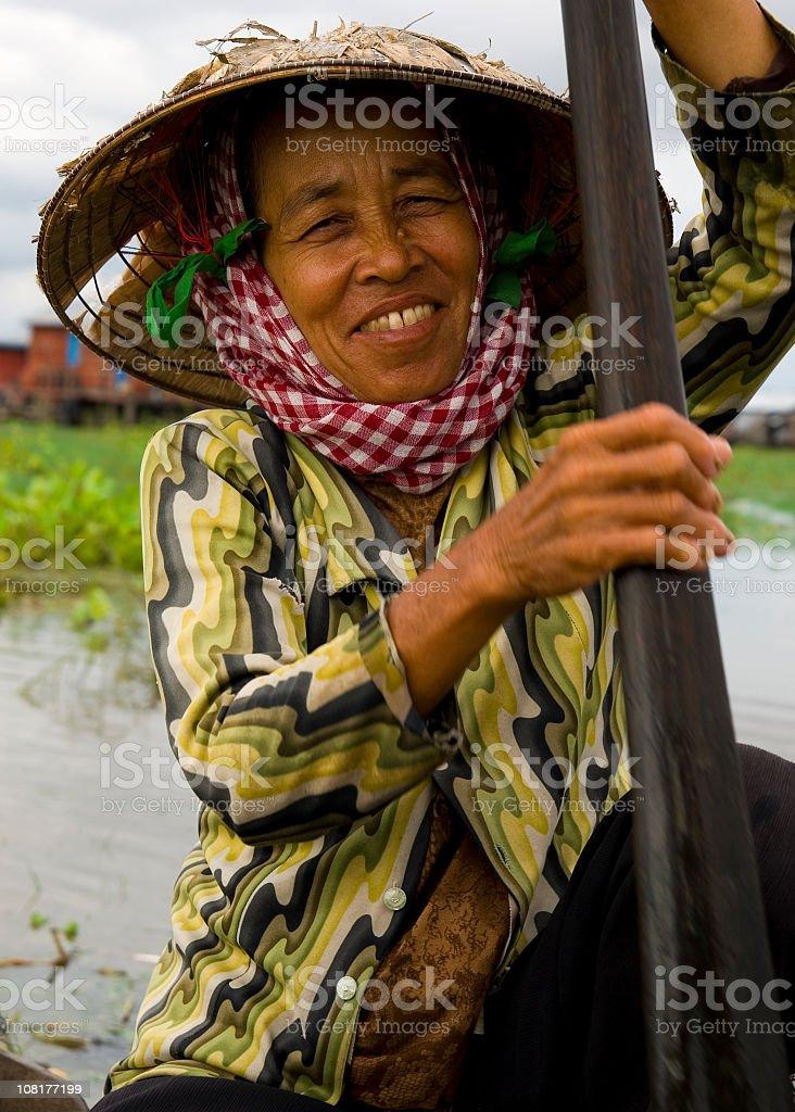 Asian Portrait royalty-free stock photo