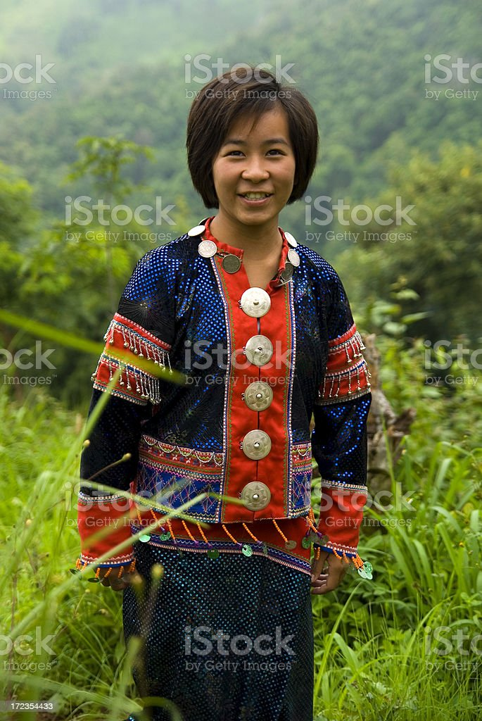 Asian Portraits royalty-free stock photo