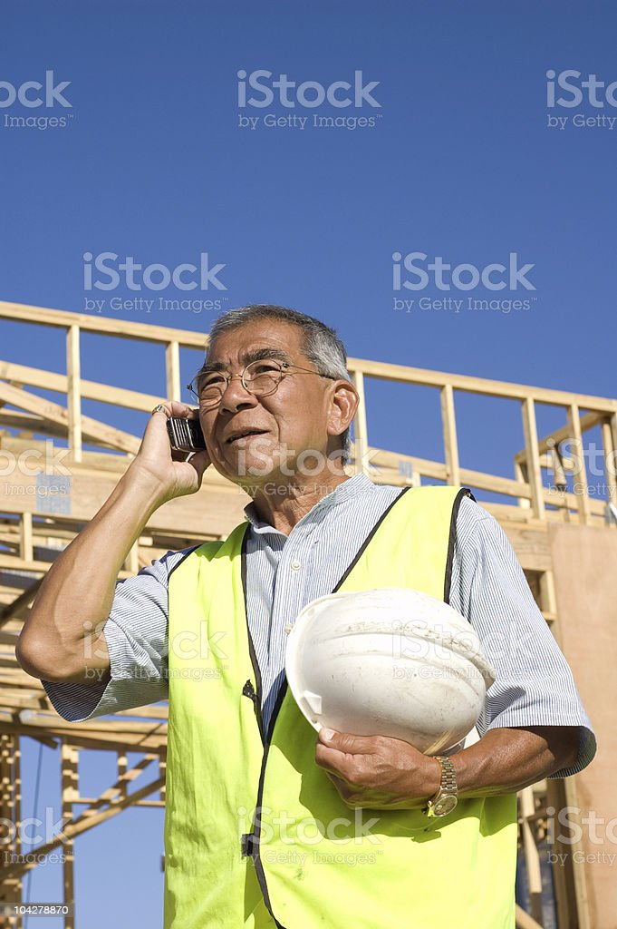 Asian Project Manager stock photo